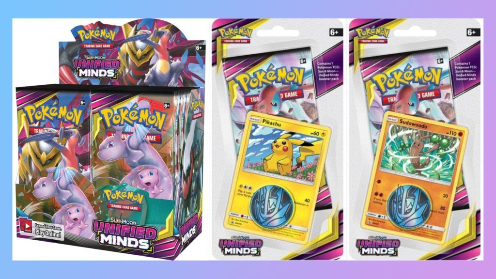 Pokemon TCG SM11 Unified Minds Preview Products CardCollectors