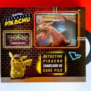 Detective Pikachu Pokemon TCG Charizard GX Special Case File Front CardCollectors