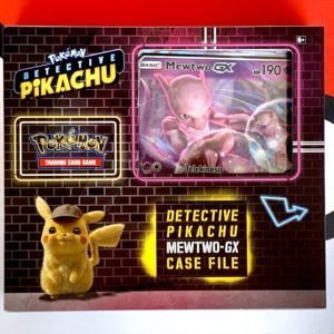 Detective Pikachu Pokemon TCG Mewtwo GX Special Case File Front CardCollectors