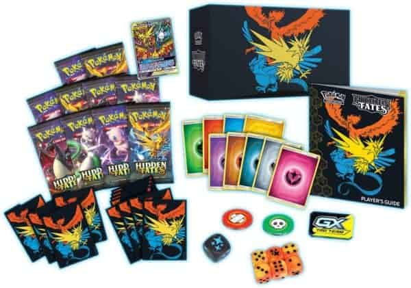 Hidden Fates Elite Trainer Box Contents Preview CardCollectors