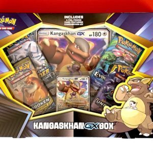 Kangaskhan GX Box Front - Pokemon TCG CardCollectors