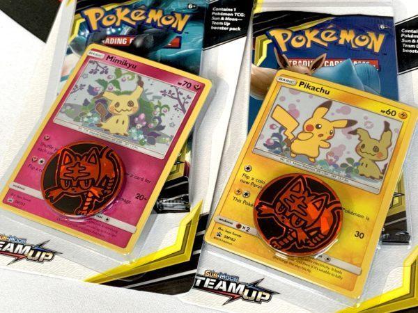 Pikachu Mimikyu Promo Card Team Up Checklane Blister Cards CardCollectors