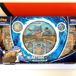 Blastoise GX Premium Collection Front View CardCollectors
