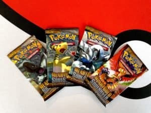 Pokemon-TCG-Heart-Gold-Soul-Silver-Base-Set-of-4-Packart-Front