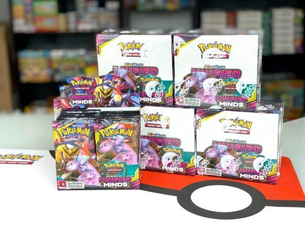 Sun Moon 11 Unified Minds Booster Box and Display Pokemon TCG Cardcollectors