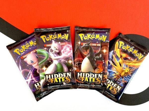 Hidden Fates Booster Packs Set of 4 Artworks Pokémon TCG CardCollectors