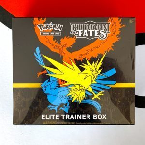 Hidden Fates Elite Trainer Box Front CardCollectors