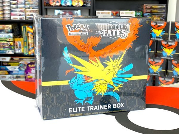 Hidden Fates Elite Trainer Box Side CardCollectors