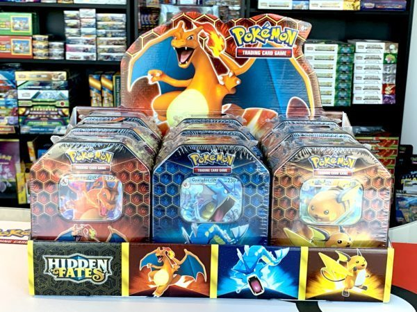 Hidden Fates Tin Collection Box CardCollectors Pokémon TCG