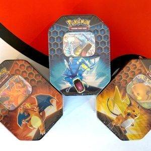 Hidden Fates Tin Collection Trio CardCollectors Pokémon TCG