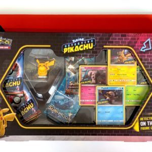 Detective Pikachu On The Case Figure Collection Front CardCollectors