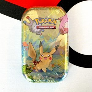 Kanto Friends Mini Tins Single Pikachu Tin Pokemon TCG CardCollectors