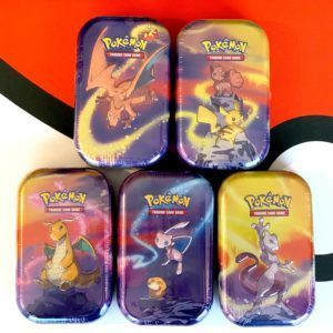 Kanto Power Mini Tins Set of 5 Front Pokemon TCG CardCollectors