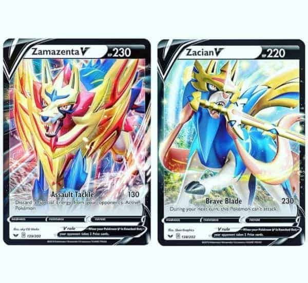 Pokemon TCG Galar Collections Legendary Preview CardCollectors