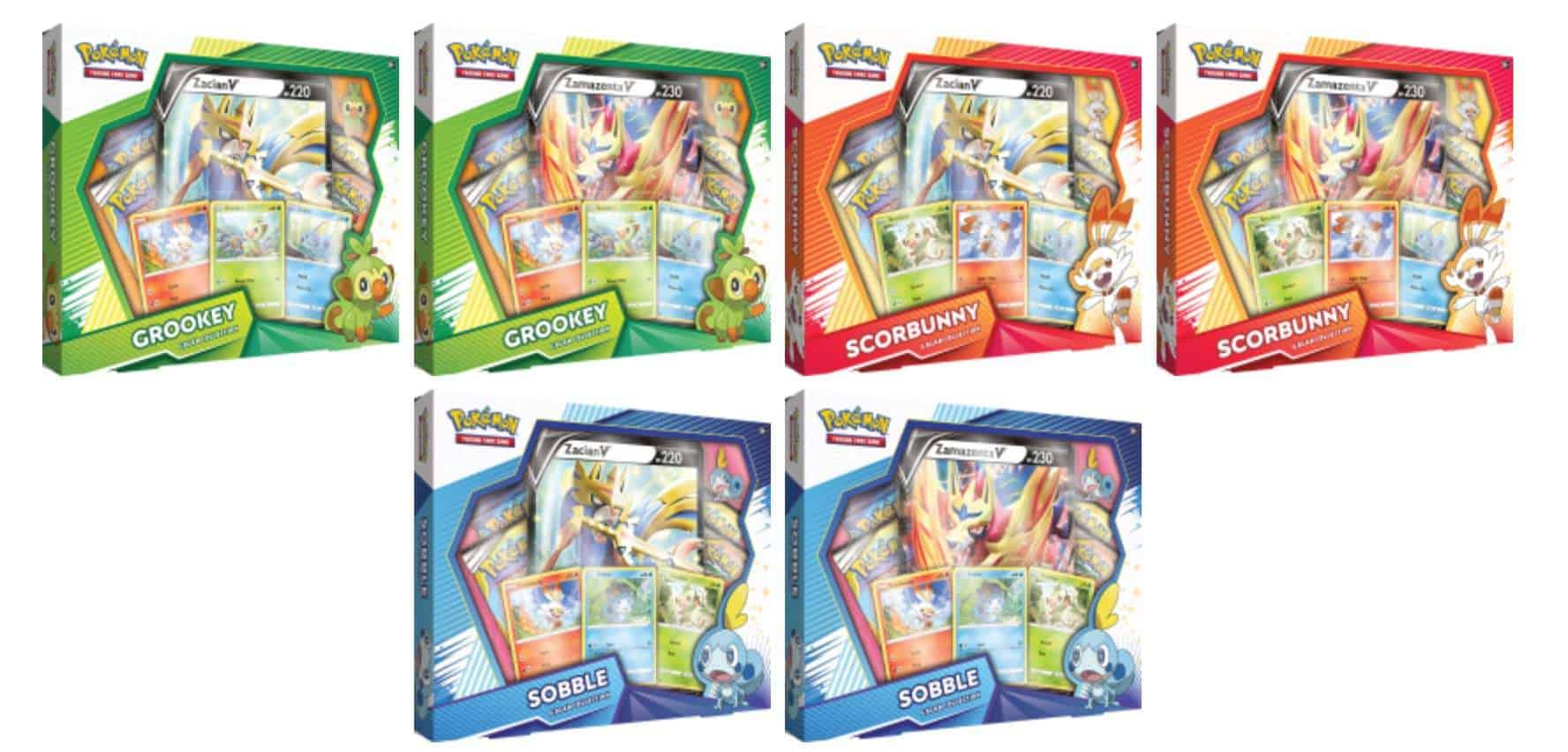 Pokemon TCG Galar Collections Preview CardCollectors