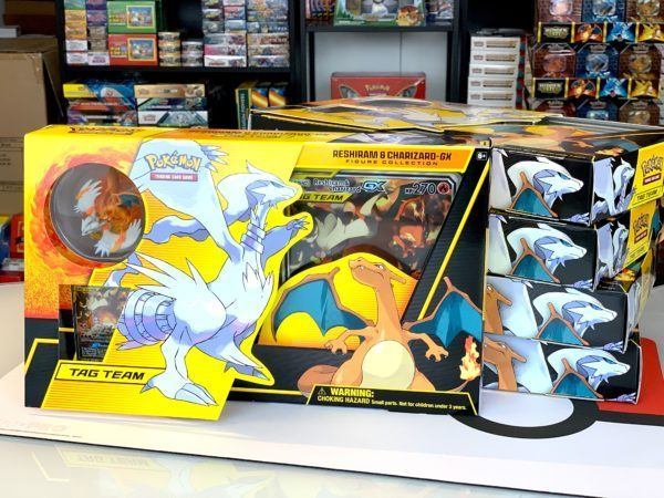 Reshiram Charizard Tag Team GX Figure Collection Boxes CardCollectors