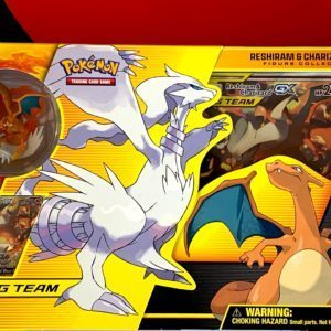 Reshiram Charizard Tag Team GX Figure Collection Front CardCollectors