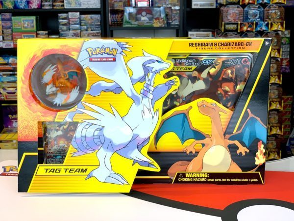 Reshiram Charizard Tag Team GX Figure Collection Product CardCollectors