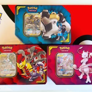TAG TEAM Power Partnership Tin Trio Color CardCollectors