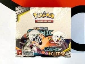Sun Moon 12 Cosmic Eclipse Booster Box Front Pokemon TCG Cardcollectors