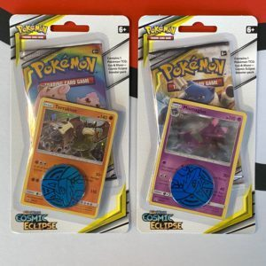 Cosmic Eclipse Promo Booster Packs Mismagius Terrakion Set