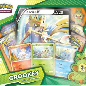 Galar Collection Grookey Zacian Front Promo Pokemon TCG