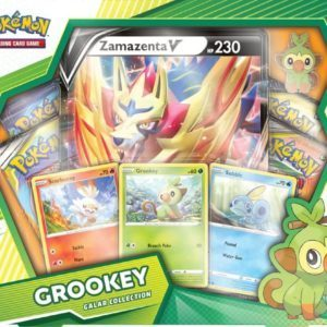 Galar Collection Grookey Zamazenta Front Promo Pokemon TCG