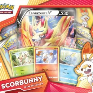 Galar Collection Scorbunny Zamazenta Front Promo Pokemon TCG