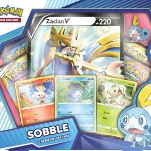 Galar Collection Sobble Zacian Front Promo Pokemon TCG