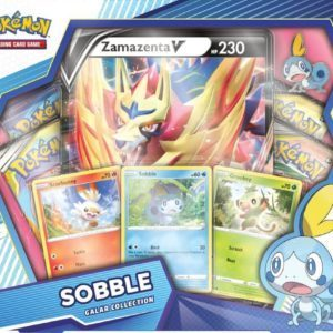 Galar Collection Sobble Zamazenta Front Promo Pokemon TCG
