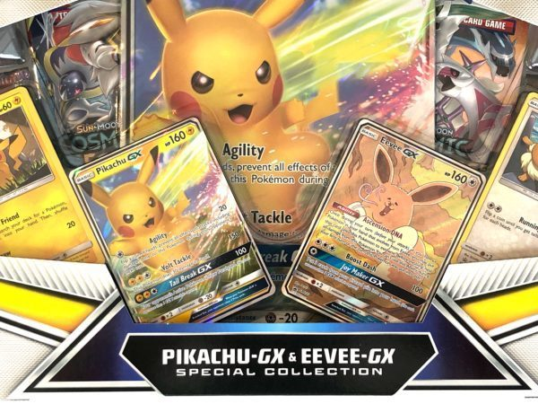 Pikachu GX Eevee GX Special Collection Detail Pokemon TCG