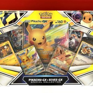 Pikachu GX Eevee GX Special Collection Front Pokemon TCG