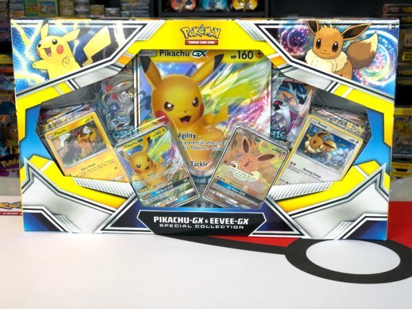 Pikachu GX Eevee GX Special Collection Side Pokemon TCG