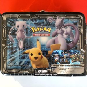 Pokémon Fall 2019 Collector Chest Pikachu & Mewtwo Front Pokémon TCG