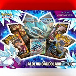 Alolan Sandslash GX Box Front Pokemon TCG