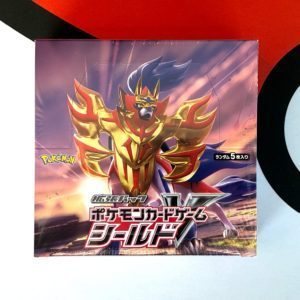 Sword Shield S1H Japan Booster Box Top Pokemon TCG