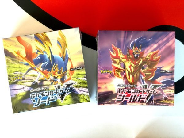 Sword Shield S1H S1W Japan Booster Boxes Top Pokemon TCG