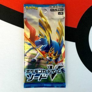 Sword Shield S1W Japan Booster Pack Front Pokemon TCG