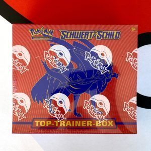Schwert Schild Top Trainer Box Zacian DE CardCollectors