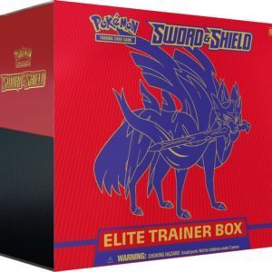 Sword Shield Pokemon TCG SWSH1 Elite Trainer Box Zacian Promo
