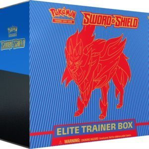 Sword Shield Pokemon TCG SWSH1 Elite Trainer Box Zamazenta Promo