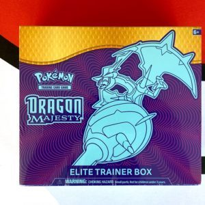 Dragon Majesty Elite Trainer Box Front Pokémon TCG CardCollectors