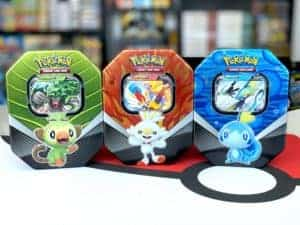 Galar Partners Tin Collection Spring 2020 Front Pokémon TCG