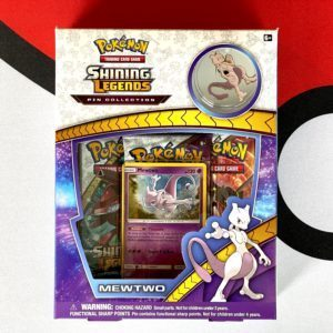 Shining Legends Mewtwo Pin Collection Front CardCollectors