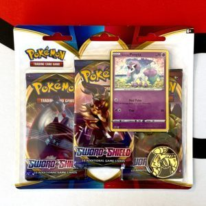 Sword & Shield Base Set Three-Pack Promo Blister Galarian Ponyta
