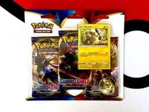 Sword & Shield Base Set Three-Pack Promo Blister Morpeko