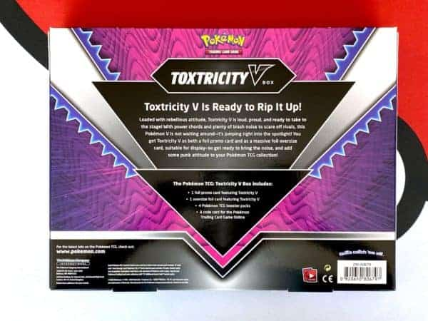 Toxtricity V Box Back Pokémon TCG CardCollectors