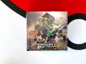 Charisma of the Cracked Sky SM7 Booster Box Pokémon TCG