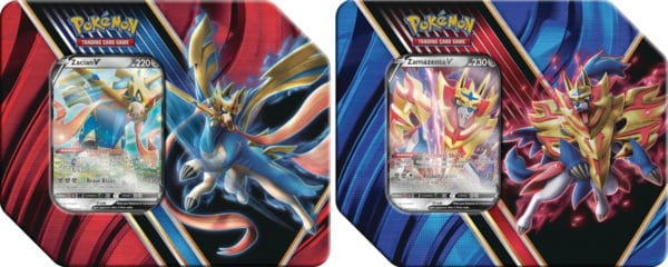 Legend Of Galar Summer Tins 2020 - Zacian Zamazenta Pokémon TCG