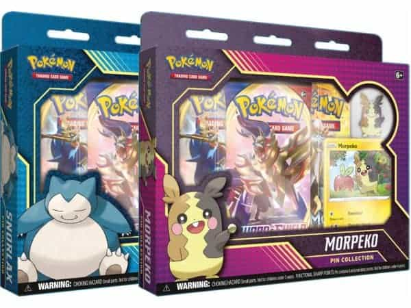 Morpeko Snorlax Pin Collection Duo Set of 2 Promo